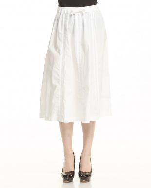 WHITE  レーススカート見る