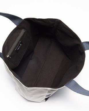 ブラック  IH09-02 ワイドボーダートートバッグ見る