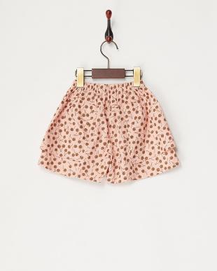 ピンク  さくらんぼ柄パンツ見る