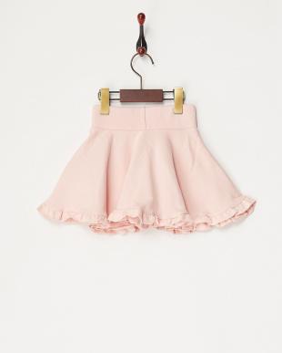 ピンク  フリル&リボンスカート見る