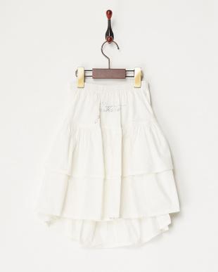 シロ  バックストーンロゴスカート見る