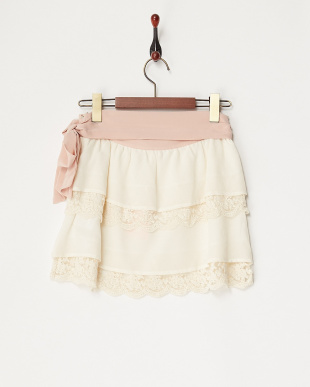 シロ リボン&レーススカート見る