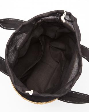 Black  ストローミニバッグ見る