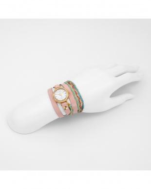 ホワイト DELMARSTONECOLLECTION 腕時計見る