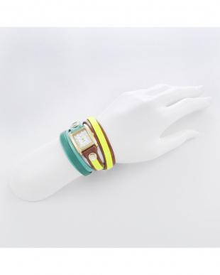 ホワイト LAYERWATCHES 腕時計見る