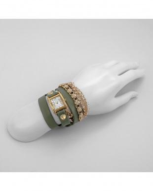 ホワイト CHAINWATCHES 腕時計見る