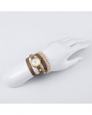 ホワイト MARTINEILANACAPSULECOLLECTI 腕時計見る