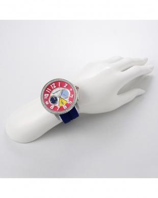 マルチカラー クレイジー 腕時計見る