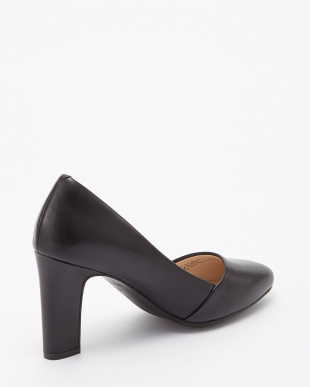 BLACK LEATHER  KINSLEE PUMP 85MM見る