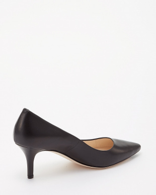 BLACK LEATHER  VESTA PUMP 65MM見る