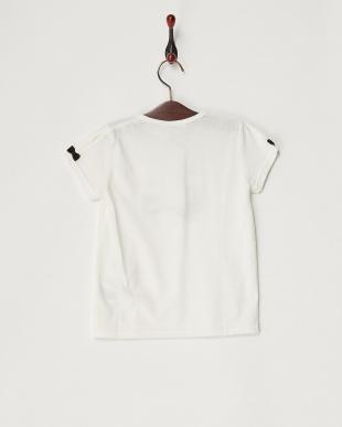 ホワイト キャットロゴTシャツ(130以下)見る