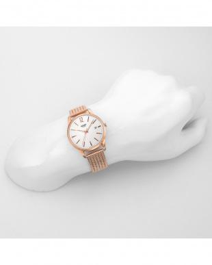 シルバー RICHMOND ステンレスバンド腕時計見る
