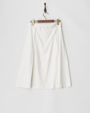 ホワイト コンフィーツイルスカート見る