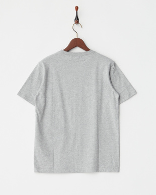 GRAY  ロゴマーク半袖Tシャツ|MEN見る