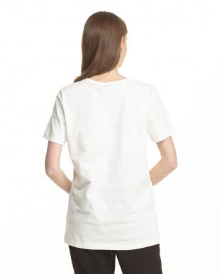 WHITE  ロゴマーク半袖Tシャツ|WOMEN見る