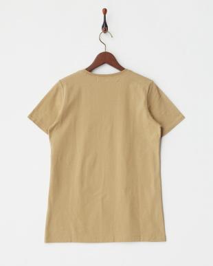 BROWN  ロゴマーク半袖Tシャツ|WOMEN見る