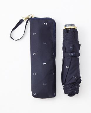NV  RIBBON DOT SF3段折りたたみ傘 雨晴兼用見る