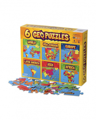 GEOパズル 6個パック見る