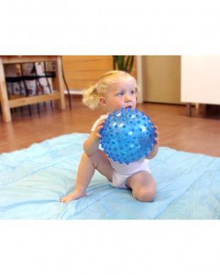 ブルー  センサリー ボール見る