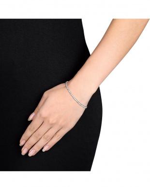 ダイヤモンド(0.5ct) ロープ調デザインブレスレット見る