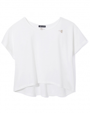 WHITE フレンチスリーブTシャツ見る