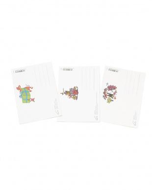 ポストカードシール ムーミンキャラクター 3枚セット見る