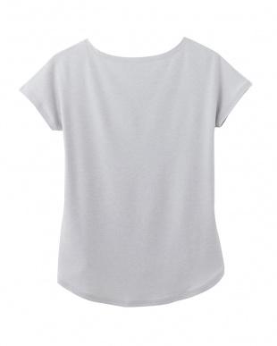 ホワイトモク ACTIBALANCE 3分袖Tシャツ見る