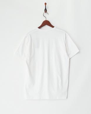 ホワイト  天竺V/NポケットTシャツ見る