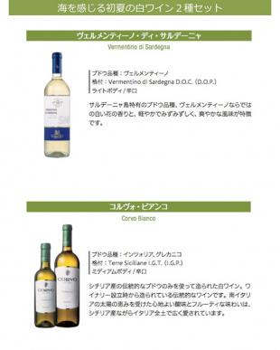 海を感じる初夏の白ワイン2種セット見る