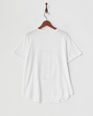 ホワイト  スパンコールドクロTシャツ見る