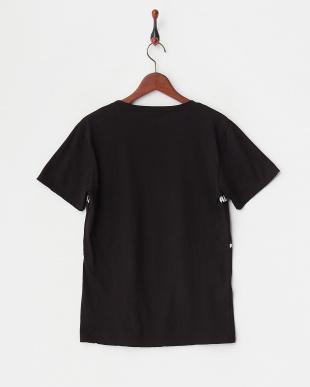 ブラック タイガー&ロゴパッチTシャツ見る