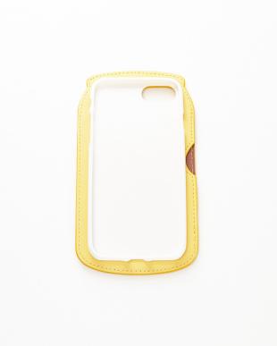 YELLOW カード入れ付き iPhone7ケース見る