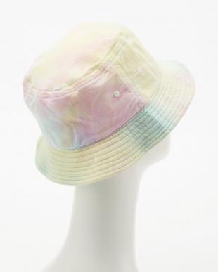 ライトミックス  TIE-DYE BUCKET HAT見る