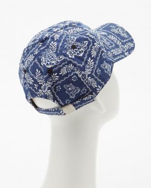 ブルー  HAWAIIAN VINTAGE LINEN CLASSIC BB CAP見る