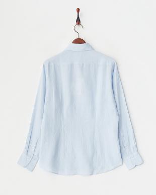 ライトサックス  リネンアロエフィニッシュシャツ見る
