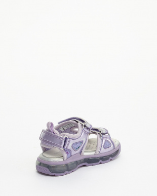 LILAC/SILVER SANDALS J S.ANDROID G. B -PR.TE+SY.PA見る
