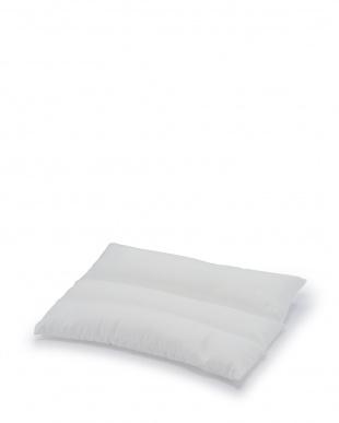 ブルー  サラッと、ひんやりピローカバー付きウォッシャブルパイプ枕見る