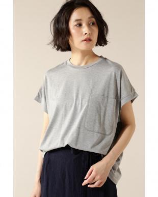 グレー duadix ポケットTシャツENCHAINEMENT/MIGNON見る