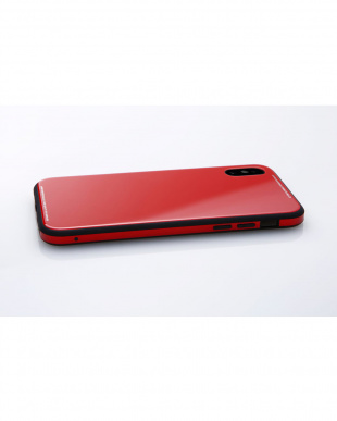 レッド  Hybrid Case UNIO for iPhone X見る