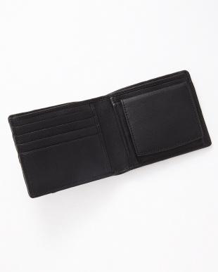 ブラック  ボックス小銭入れ 2つ折りメッシュ財布見る