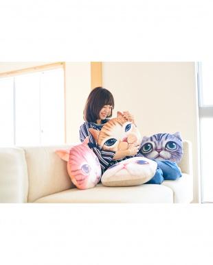マンチカン  モチーフクッション Koira&Kissa(コイラキッサ)見る