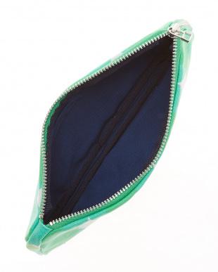 sunny グリーン  メガネケースにも使える ペンケース見る