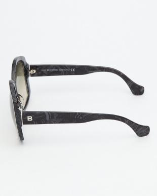 マーブルグレー  BA49 変形フレームサングラス見る