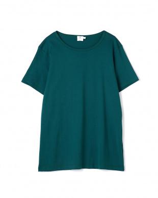 ブルー3 Wome's Log-Staple Cotto Classic T-Shirt サンスペル ウイメンズ見る