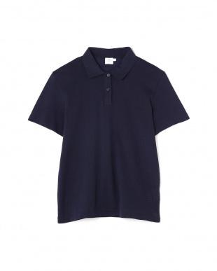 ネイビー Wome's Cellular Cotto Polo Shirt サンスペル ウイメンズ見る