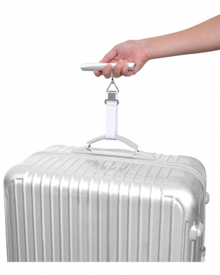 ホワイト  荷物用はかり見る