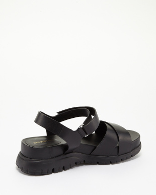 BLACK LEATHER  ZEROGRAND SANDAL II見る