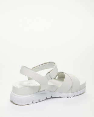 CHALK LEATHER/OP WHITE  ZEROGRAND SANDAL II見る