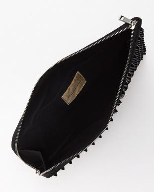 BLACK triangular clutch bag lip/RED|UNISEX見る