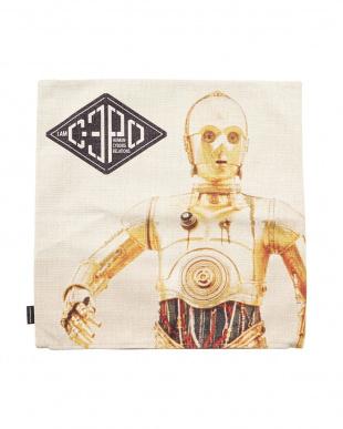 C3PO×R2D2  クッションカバー見る